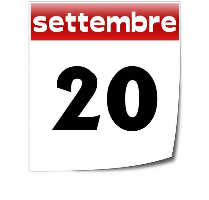 20 settembre