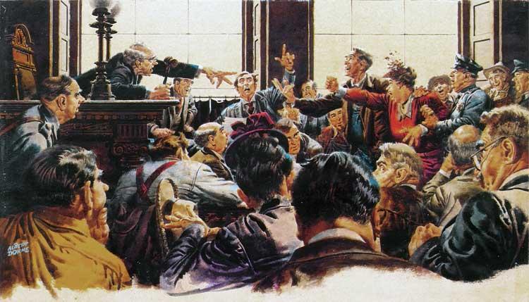 Il paese dove tutto finisce in tribunale. Riflessioni sparse sulle prospettive di riforma  della giustizia civile