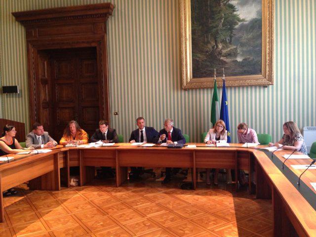 ADR Center - vista delegazione governo polacco e bulgaro
