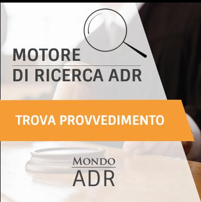 Motore di Ricerca Mondo ADR